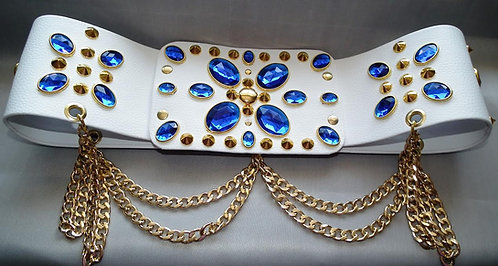 Elvis Style Belt with Chains