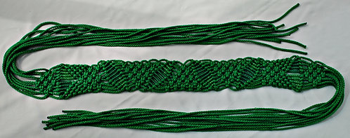 Elvis Style November 1970 Leaf Macramé Belt