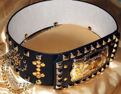Gold and Silver Western Style Belt