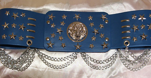 Lion Head and star Belt