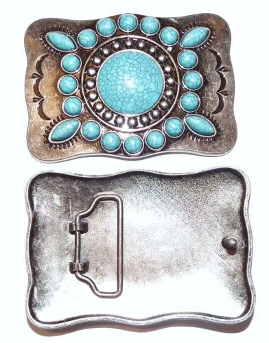 Turquoise Navajo Buckle