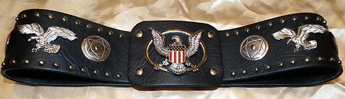 Eagle and Concho After the Show Belt