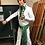 Thumbnail: Elvis Style Green Tapestry Suit Belt
