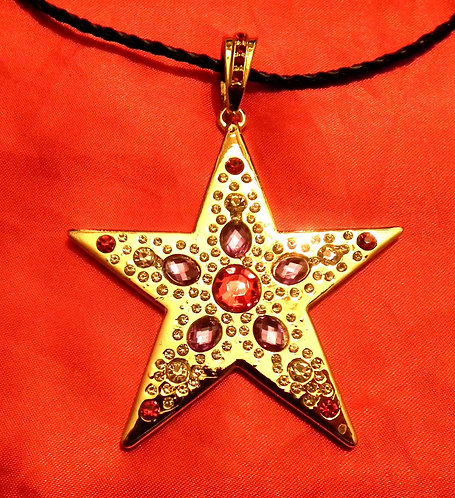 The Memphis Star on Leather Cord