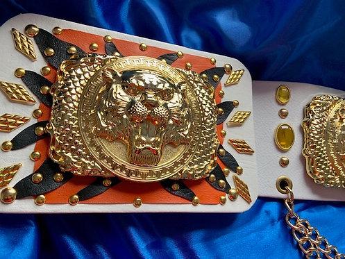 Elvis Style Tiger Belt