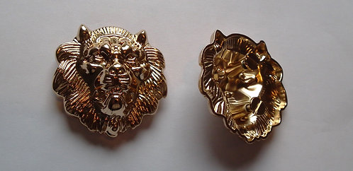 Individual Spare Small Gold Lion Head