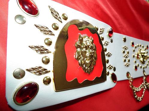 5 Lion Head Matadore Belt