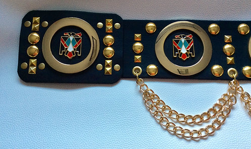 Elvis Style Gold Phoenix Belt