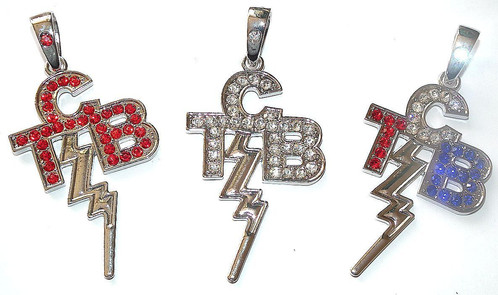 Silver tcb pendant elvisbelts silver tcb pendant mozeypictures Gallery