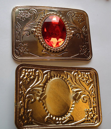 Individual Spare Ruby Square Buckle