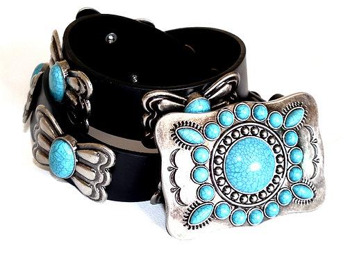 Elvis Style Casual Navajo Indian Belt