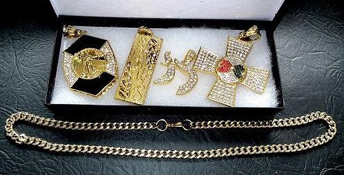 Famous 4 Pendant Collection
