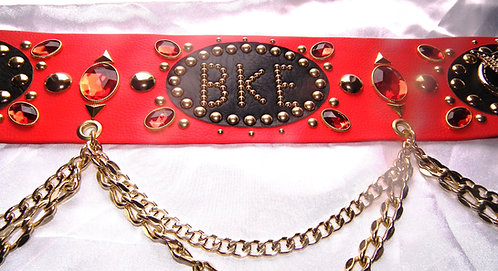 Elvis Style Personalised Belt
