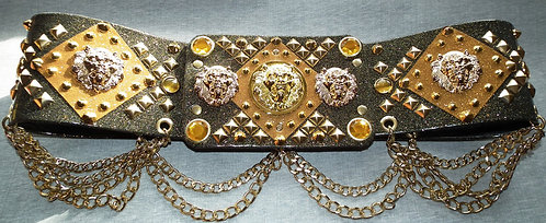 Majestic Black Regency Belt