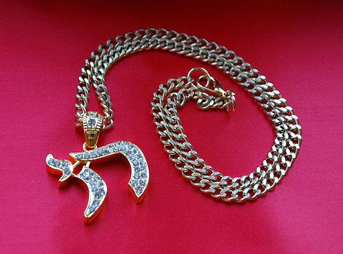 Gold Chai Pendant