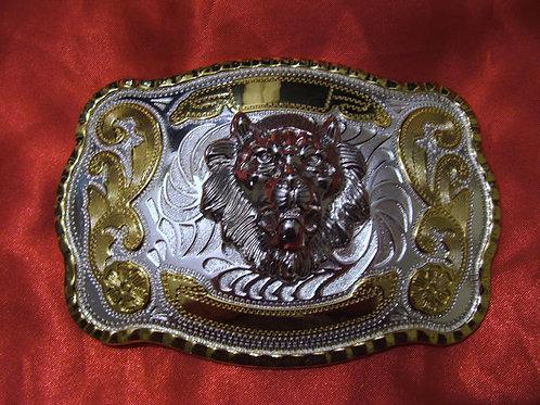 Vegas Lion Head Buckle