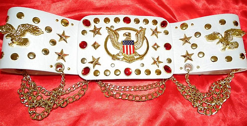 Red and Gold Aloha Belt