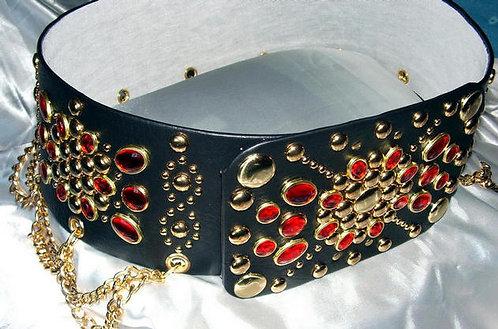 Black and Ruby Belt