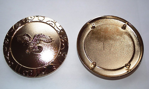 Individual Spare Gold Round Flying Eagle