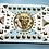 Thumbnail: Elvis Style Powder Blue Belt in Gold or Silver