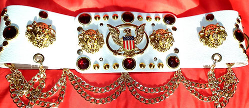 The Ruby Lion Head and Aloha Belt