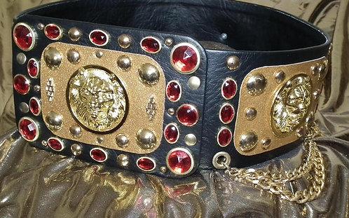 Luxurious Lion Head Belt