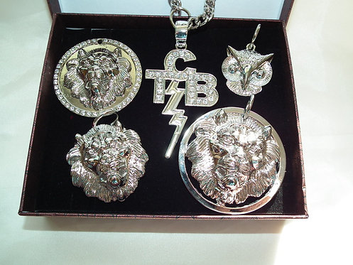 The Silver Five Pendant collection
