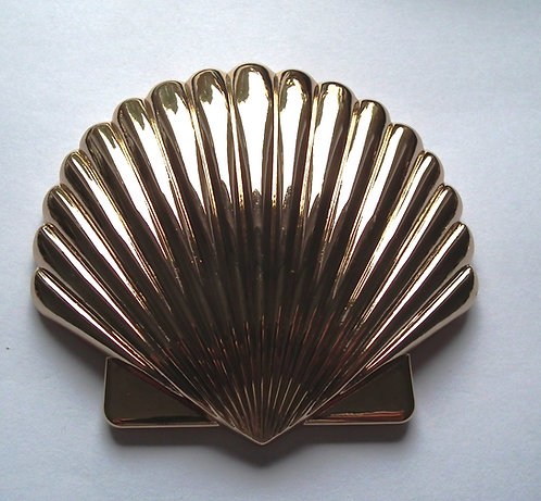 Individual Spare Large Gold Sea shell