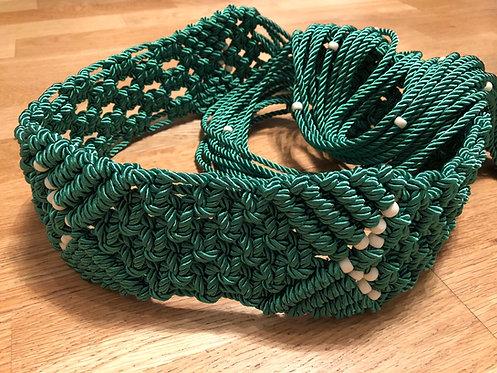 Elvis Style Green Tapestry Suit Belt