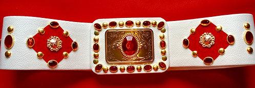 Elvis Style Ornate Jewelled Diamond Belt