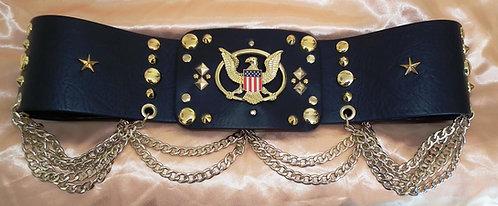 Gold Aloha Band Belt