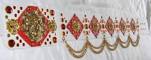 Eight Lion Head Belt