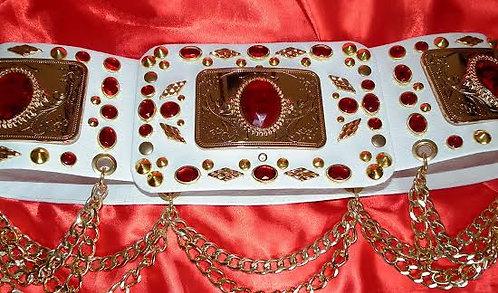 Ruby Jewel Encrusted Belt