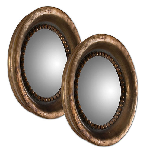 La Cour Round Mirrors
