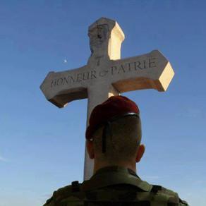 Tombes de soldats à l'abandon
