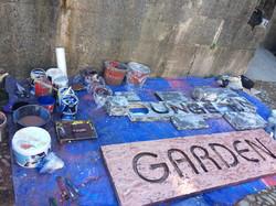 Garden Stage Signage