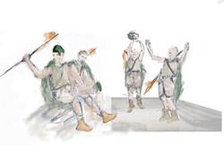 Male Chorus Costumes