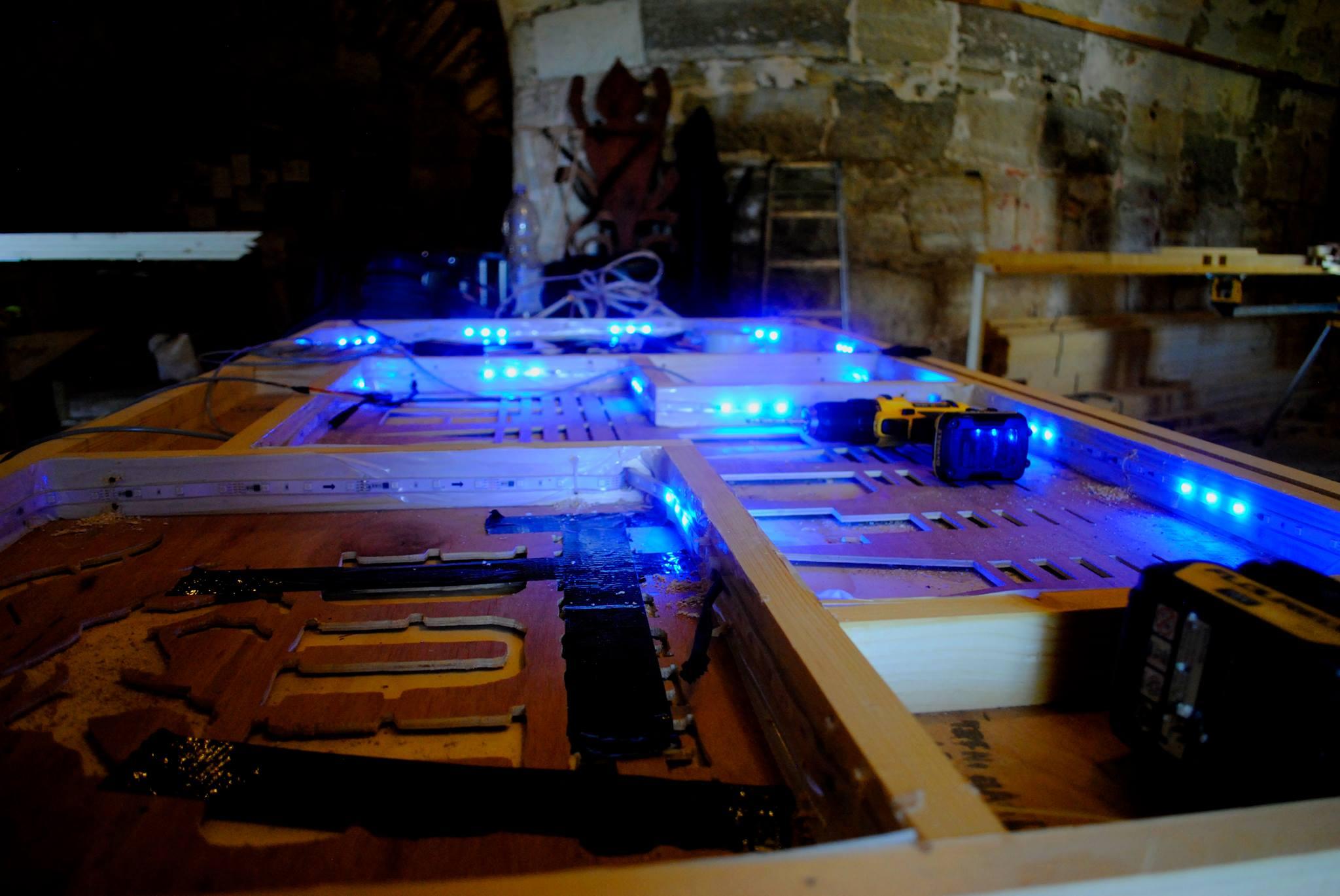 Lightbox process