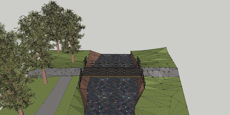 Bridge Sketch Up with installation