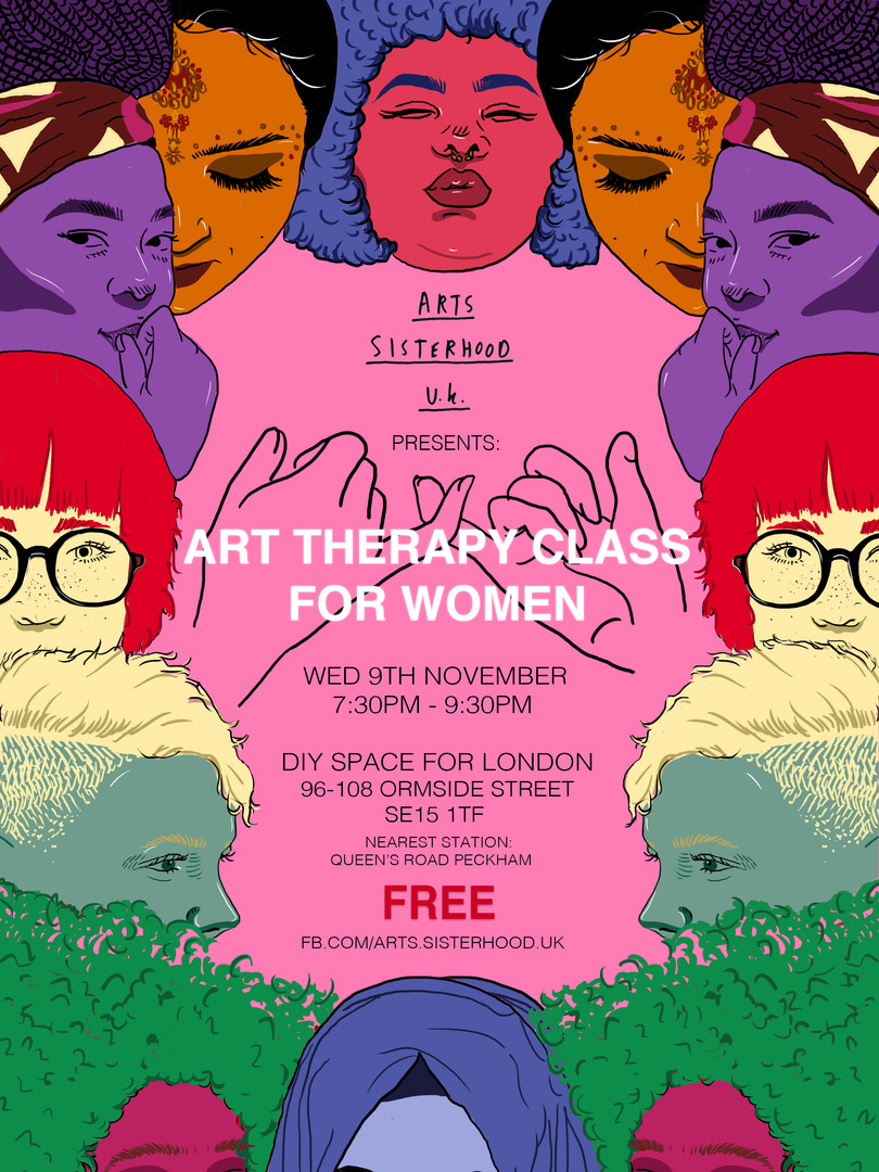 Arts Sisterhood Poster
