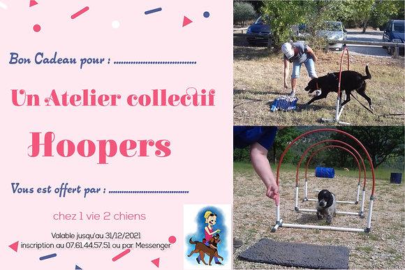 Bon Cadeau : Atelier collectif Hoopers
