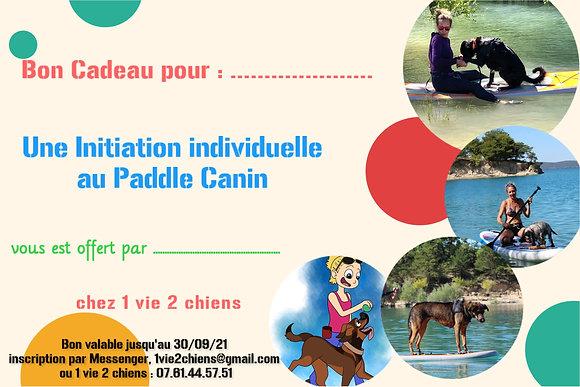 Bon Cadeau : Paddle Canin