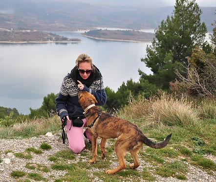 éducatrice canine comportementaliste - var kayak chiot positif entraineur dresseur