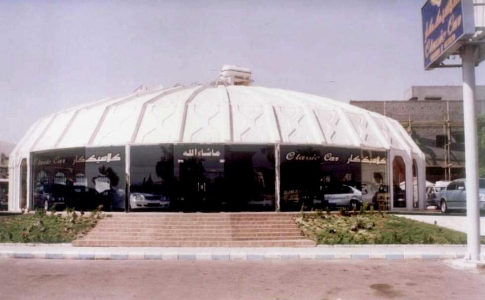 صالة فايبر جلاس مؤسسة بدر للتجارة