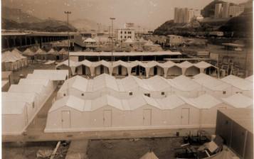 صورة عامة لمستشفى الحرس الوطني  في منى