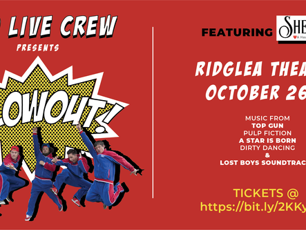 Poo Live Crew BLOWOUT- Ridglea Theater January 25, 2020