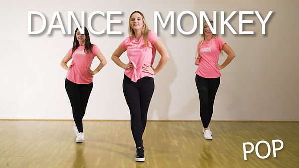 Dance Monkey thumbnail moje koreografije