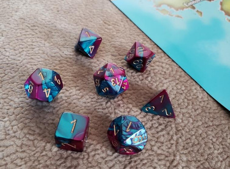 GIVEAWAY! Cursed Dice and Can Koozie