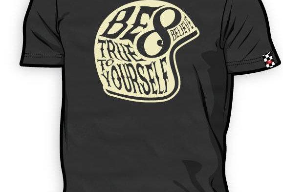 T-Shirt 8ITO Believe Steel