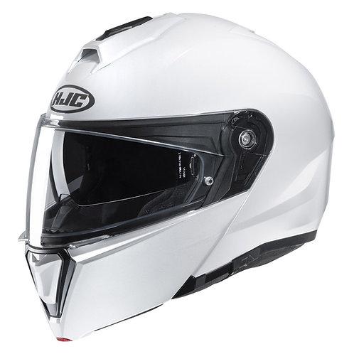 Capacete HJC I90 Branco Pérola